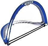 PUGG 4 Foot Pop Up Soccer Goal - Portable Training Futsal Football Net - The Original Pickup Game Goal (One Goal and Bag)