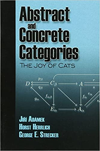 Book cover of Abstract and Concrete Categories: The Joy of Cats