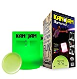 Kan Jam Illuminate Multi-Light-Up - Features Two 6-Color LED Light Goals with Remote Control and 1 Flying Disc