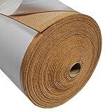 Fine Grain Cork Adhesive - 1/8' Thick X 48' Wide X 3' Long