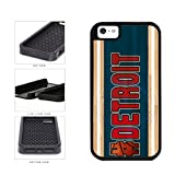 BleuReign(TM) Basketball Team Hashtag Detroit #Detroit 2-Piece Dual Layer Phone Case Back Cover For Apple iPhone 5 5s