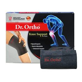 Dr Ortho Knee Support (Grey, Medium)