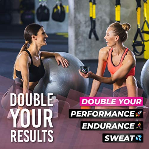 HONEYBULL Fit Gel Workout Enhancer to Sweat More at Gym & Cardio 2