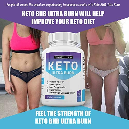 Keto BHB Ultra Burn - Advanced Weight Loss for Ketogenic Diet - Weight Loss Pills - 30 Day Supply - 60 Capsules 5