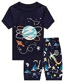 Family Feeling Little Boys Space Pajamas Short Sets 100% Cotton Kid 5