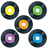 Carson Dellosa - Records Colorful Cut-Outs, Classroom Décor, 45 Pieces