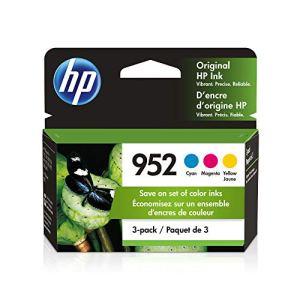HP 952 | 3 Ink Cartridges | Cyan, Magenta, Yellow | Works with HP OfficeJet Pro 7700 Series, 8200 Series, 8700 Series…