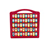 Battat - Hide & Seek Alphabet Pop-Up - 50 Shapes Colors Letters Numbers - Learning Toys for Toddlers - Phthalates & Bpa Free