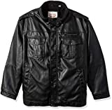 Product review for Levi's Men's Vintage Deer Faux Leather Sherpa Military Jacket