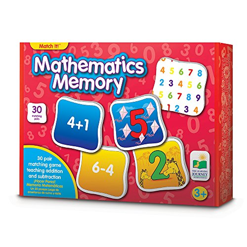 The Learning Journey Match It! Memory, Mathematics