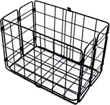 Wald W582BL 582 Rear Folding Bicycle Basket (12.75 x 7.25 x 8.5, Black)