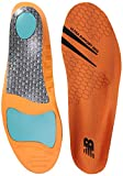 New Balance Insoles 3810 Ultra Support Insole Shoe, orange Medium/M 9-9.5, W 10.5-11 D US