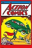 Action Comics #1 (24x36) Poster Print (22 x 34)