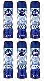 6 x Nivea Men Cool Kick 48h Anti-Perspirant 150ml by Nivea for Men