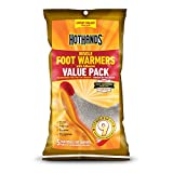 HotHands Insole Foot Warmers With Adhesive Value Pack (5-Pairs)