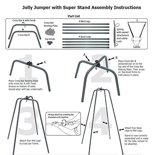 1bd1c15c2 Jolly Jumper The Original Baby Exerciser with Super Stand Review