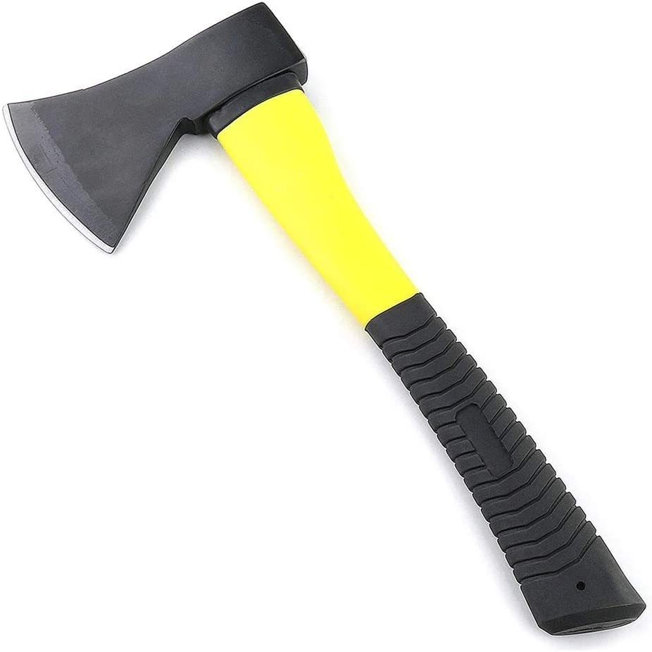 HINIRY Gardening Tools 600 GMS Hatchet Axe Fiberglass for Home Gardening and Multiple Purpose