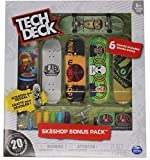 Tech Deck Alien Workshop Skateboards Sk8shop Bonus Pack with 6 Fingerboards - 20th Anniversary