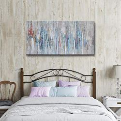 Abstract wall art for bedroom living room