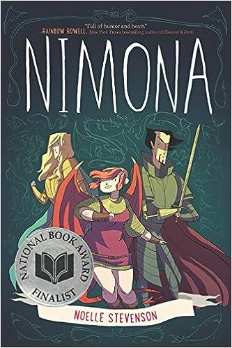 Image result for Nimona by Noelle Stevenson (writer and artist)