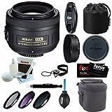 Nikon 35mm F/1.8G AF-S DX Nikkor Lens with Deluxe Accessory Kit