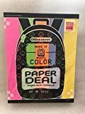 Office Depot Bright Neon Card Stock Cardstock 125 sheets 65 pound 8.5 x 11