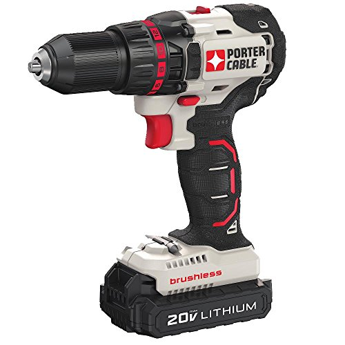 PORTER-CABLE PCC608LB 20V MAX Lithium Compact Brushless Drill