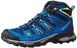 Salomon Men's X Ultra Mid 2 GTX Hiking Boots, Blue Depth/Union Blue/Gecko Green, 8 D(M) US