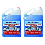 Wet And Forget 6318344 Moss Mold Mildew and Algae Stain Remover, 1 Gallon, 2pk
