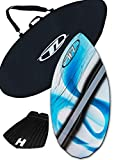"""Product review for Skimboard Package for beginners - Blue - 38"""" Fiberglass Wave Zone Diamond plus Board Bag and/or Traction Pad - For Riders up to 110 lbs"""