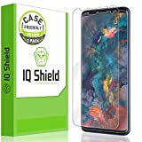 [2-Pack] IQ Shield LiQuidSkin Clear Screen Protector for Samsung Galaxy S9 [Case Friendly Version 2] HD Anti-Bubble TPU Film