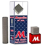 Magnetica Original Buildable Magnets (2.5mm) 512 Set for Sculpture Stress Relief Intelligence Development and Desk Toy for Adults   The World's Best Magnets!