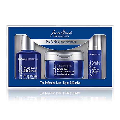 51nv9GLmblL A $138 value! + Protein Booster Skin Serum, 2 oz. High-performance formula contains advanced peptides and antioxidants to reduce the appearance of fine lines and wrinkles, while improving skin texture and clarity. Protein Booster Eye Rescue, 0.5 oz. Intensive multi-action eye treatment helps reduce the appearance of fine lines, wrinkles and dark circles, firms the skin and helps reduce puffiness.
