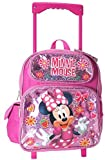 Minnie Mouse 12 inches Toddler Small Rolling Backpack