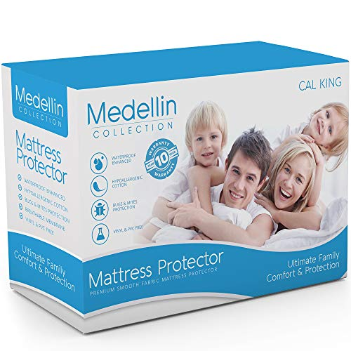 Medellin Collection Waterproof Mattress Protector