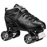 Roller Derby Str Seven Men's Roller Skate, Black/Grey, 11