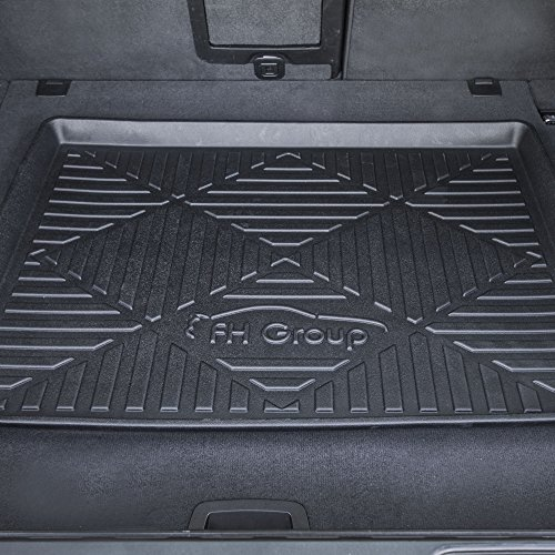 FH Group F16407-40 Premium Multi-Use Car SUV and Garage Trunk Mat Cargo Tray, 40' x 32', Black