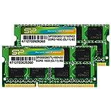 Silicon Power Hynix IC 16GB (2 x 8GB) DDR3L RAM 1600MHz (PC3 12800) 204 pin CL11 1.35V Non ECC Unbuffered SODIMM Laptop Memory Module - Low Voltage