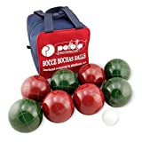 Perfetta Club Pro Bocce Ball Set-solid color- Made in Italy