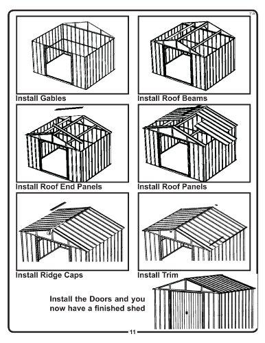 Arrow-Sheds-HM86-Hamlet-Steel-Storage-Shed-8-by-6-Feet