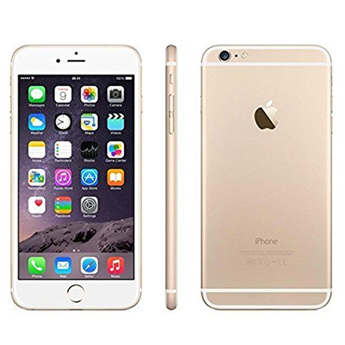 Apple iPhone 6 Plus, GSM Unlocked, 16GB - Gold (Renewed)