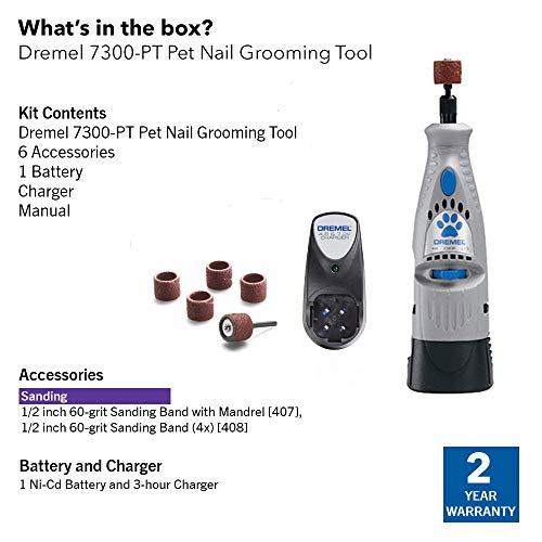 Dremel-7300-PT-48-Volt-Pet-Grooming-Kit