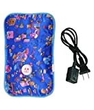 J AND V ENTERPRISE Nevil Rubber Hot Water Heating Pad Bag for Pain Relief Massage (Small, Multicolour)