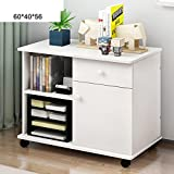 EWYGFRFVQAS Simple Wooden Office Cabinet Console File Cabinet Removable Low Cabinet Lock Drawer Data Cabinet [lockers] Bedroom Table-F
