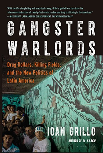 Gangster Warlords by Ioan Grillo. Kindle cover image.