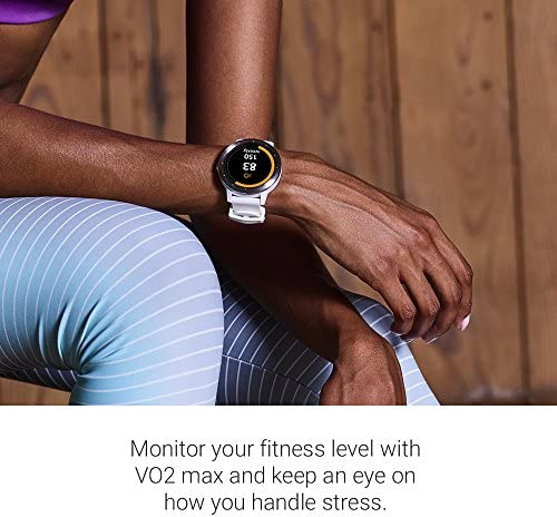 Garmin 010-01769-21 Vivoactive 3, GPS Smartwatch with Contactless Payments and Built-in Sports Apps, White/Silver 6