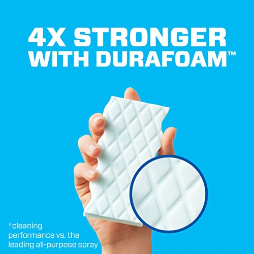 Mr. Clean Magic Eraser Extra Durable, Cleaning Pads with Durafoam, 4 count (Packaging May Vary)