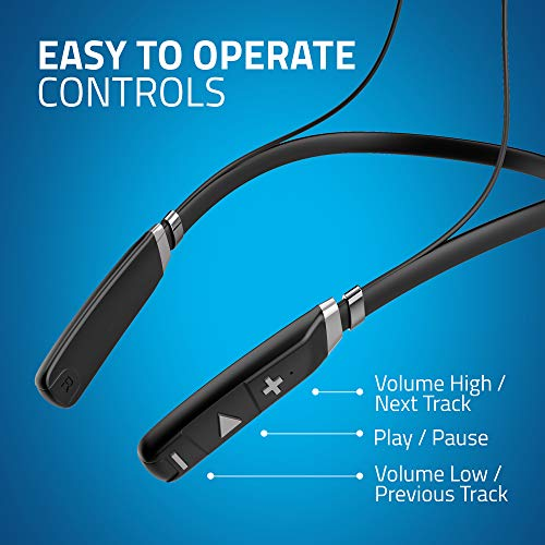 51o8L8B1ybL Artis BE910M Sports Bluetooth Wireless Earphone with Stereo Sound & Hands Free Mic. (Black)