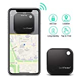 Key Finder – TBMax Key Locator Bluetooth Tracker Device with App Control for Phone, Slim Wallet Bag Luggage Tracker, Compatible with iOS Android + Replaceable Battery