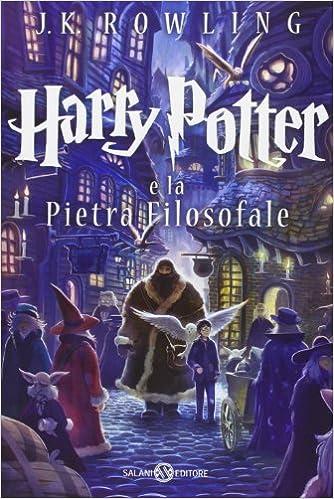 Harry Potter e la pietra filosofale Book Cover